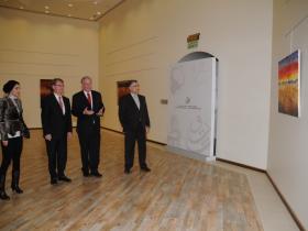 Areej Rajab, Dr. Kadhem E. Rajab, Austrian Ambassador Ulrich Frank & Amos Schueller