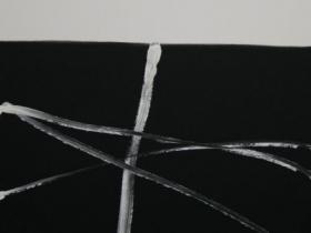 Criss- Cross V. (2008)   Acryl on Canvas   80 x 60 cm