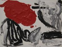 Red Cloud (2012)   Acryl on Canvas   60cm x 80cm
