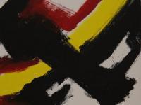 Black Cross (2009)   Acryl on Canvas   40cm x 60cm