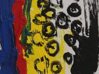 Without Title (2012)   Acryl on Canvas   115cm x 70cm