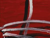 Across on Red (2008) | Acryl on Canvas | 60 x 40 cm