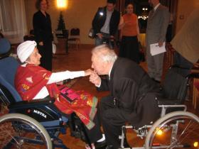 Soshana and Professor Dr Wilfried Daim