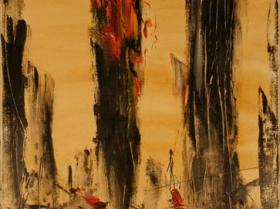 NYC Nr. I. (2001)   Oil on Canvas   90 x 70 cm