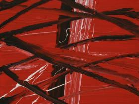 Memories of 9/11 Nr. II. (2008)   Acryl on Canvas   60 x 40 cm