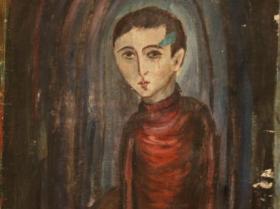 Portrait of a boy (1953) | Oil on Canvas | 54 x 47 cm