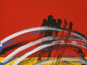 Future IV. (2008)   Acryl on Canvas   80 x 60 cm