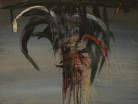 Destiny IX (1964)   Oil on Canvas   130 x 80 cm