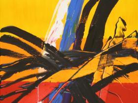 Explosion of Peace (2008)   Acryl on Canvas   80 x 60 cm