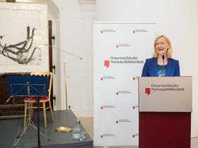 Generaldirektorin Dr. Johanna Rachinger