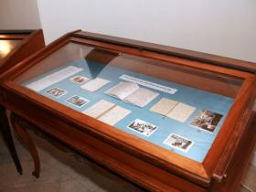 Exhibition of Soshana's diaries and photographs in the possession of the Austrian National Library