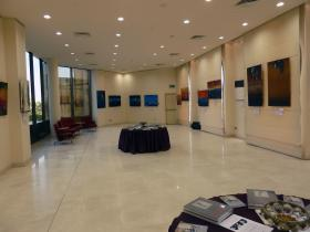 Exhibition Hall of Al-Babtain Central Library for Arabic Poetry in Kuwait
