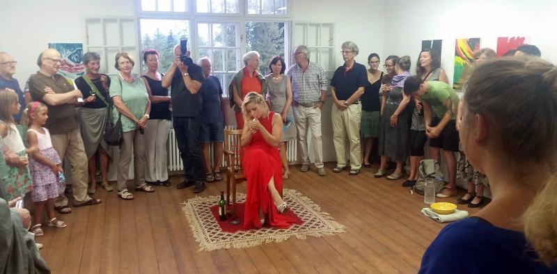 Danceperformance Silke Grabinger