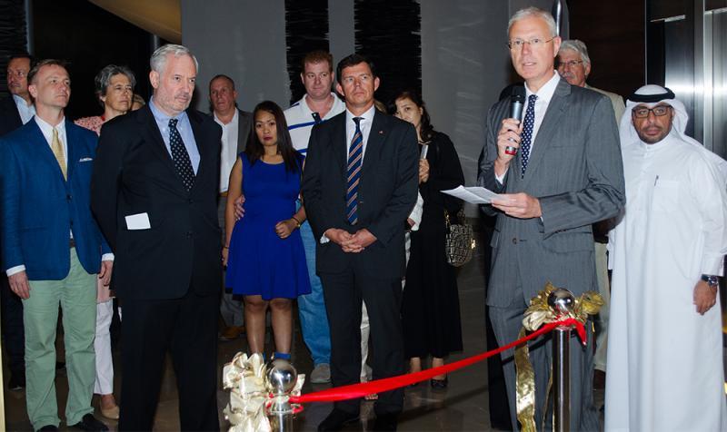 Ambassador Peter Elsner, Rayed M. Al Arashi