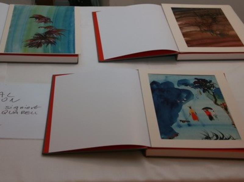 """Special editions of """"Soshana. Life and Work."""" with paper works of Soshana"""