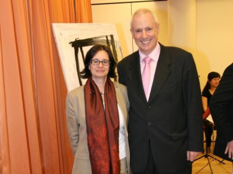Dr. Sirikit Amman (BMUKK) & Amos Schueller