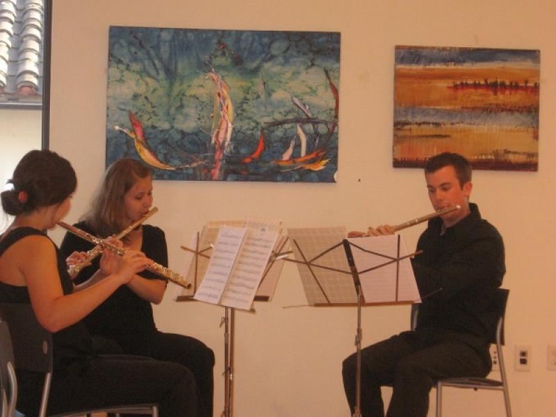 Musicians at Exhibition