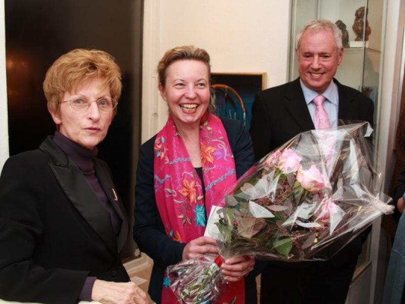 Ulrike Könekamp, Prof. Martina Pippal and Amos Schueller