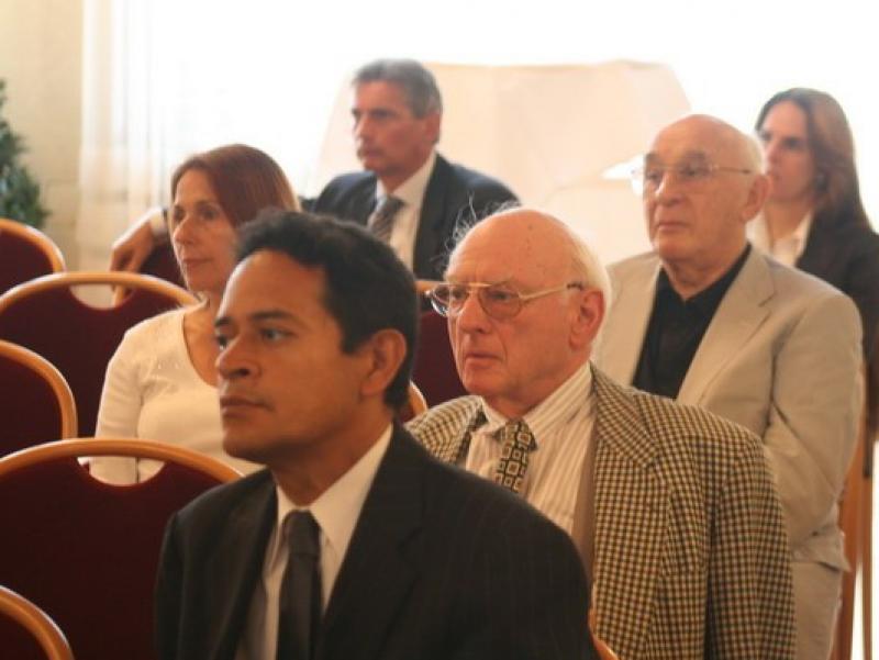 1st row: Rafael Donadio, 2nd row: Evelin Stein, Dkfm Georg Kastner; 3rd row: Jenö Eisenberg1st row: Rafael Donadio, 2nd row: Evelin Stein, Dkfm Georg Kastner; 3rd row: Jenö Eisenberg