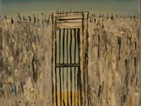 Gate to Freedom (1993)   Oil on Canvas   75 x 50 cm